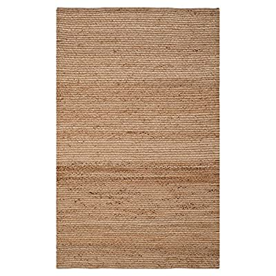 Safavieh Cape Cod Collection CAP355A Hand Woven Natural Jute Area Rug