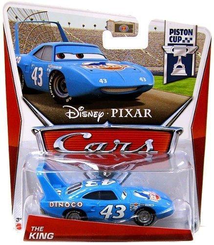 """MATTEL Disney-PIXAR """"CARS"""" PISTON CUP """"THE KING"""" マテル 「カーズ」 ピストンカップ 「キング」 ダイナコ 2013"""
