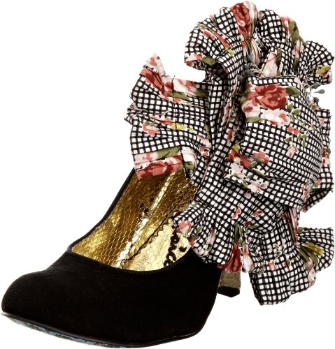 Irregular Choice Women's Burger N Fries Black Mary Janes 3614-32A 5 UK, 38 EU