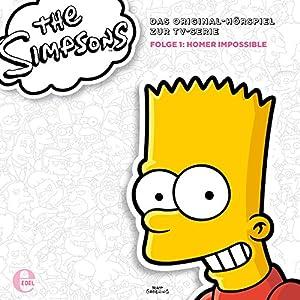 Homer Impossible: Das Original-Hörspiel zur TV-Serie 1 (Die Simpsons Staffel 23, Episode 1+2) Hörspiel