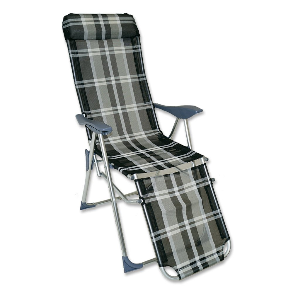 Alu Relax-Sessel 83 x 61 x 120 cm Relaxstuhl Sessel Stuhl Garten Klappsessel günstig kaufen