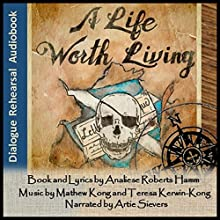 A Life Worth Living: The Curse of the Quedagh Merchant (       UNABRIDGED) by Analiese Roberts Hamm Narrated by Artie Sievers