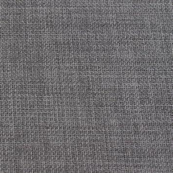 Iwf tissu tissu ameublement rideau gris ardoise aspect lin souple souple - Rideau de cuisine au metre ...
