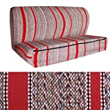 OxGord Saddle Blanket Full Size Truck Bench Seat Cover for Ford, Chevy, GMC, and Dodge Trucks, Red