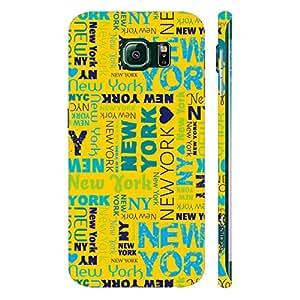 Samsung Galaxy Note5 Edge New York Graffiti designer mobile hard shell case by Enthopia