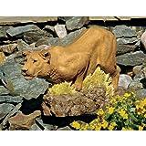 African Lioness Home Garden Statue Sculpture Figurine