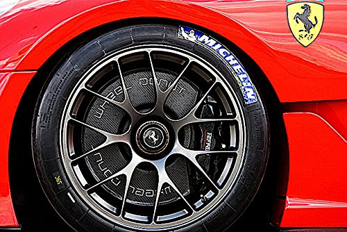 CANVAS  Ferrari Art print POSTER 599