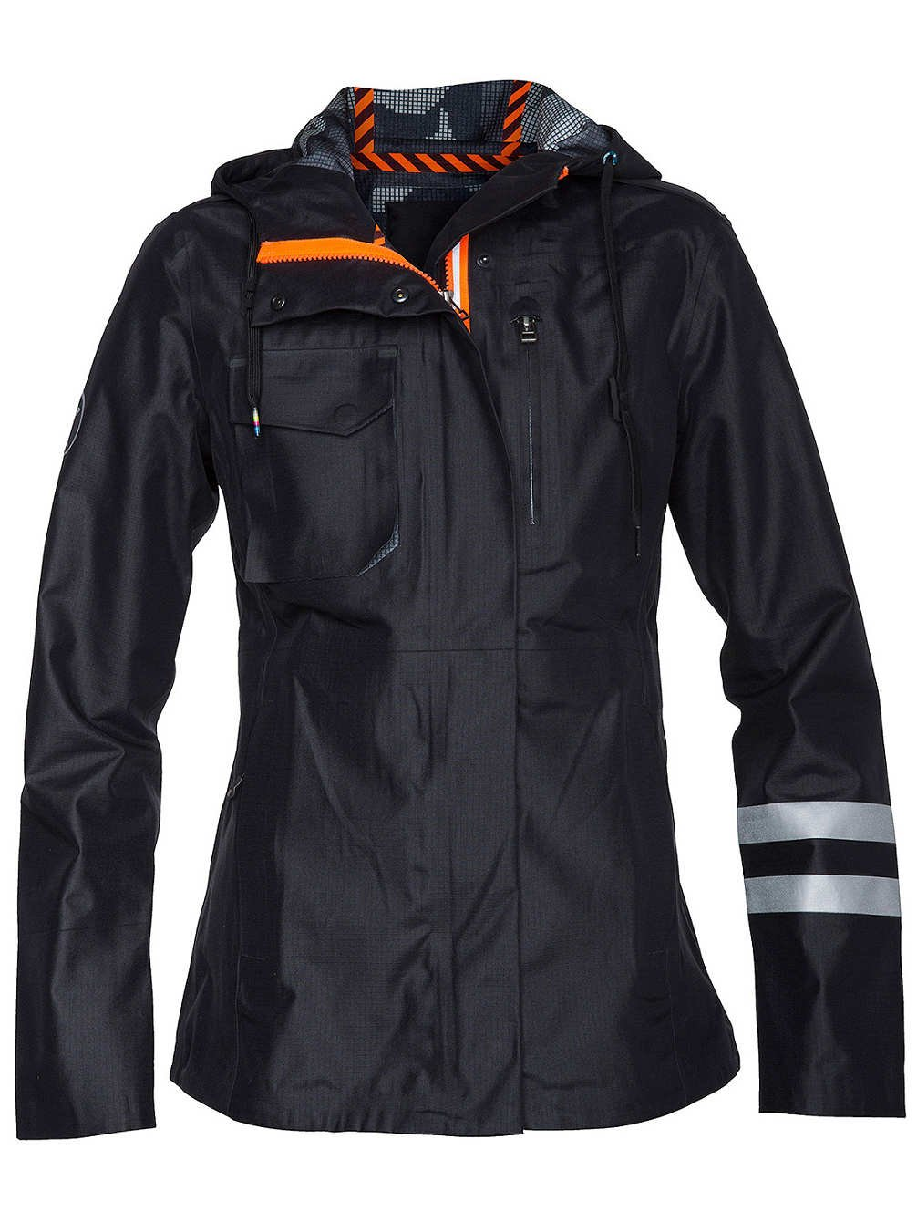 Damen Snowboard Jacke Hurley Phantom Protect Slicker Jacket