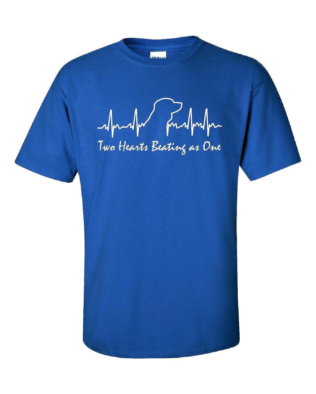 купить Beagle Tshirt Dog Heartbeat Two Hearts Beating As One Beagle-unisex Tshirt по цене 2401 рублей
