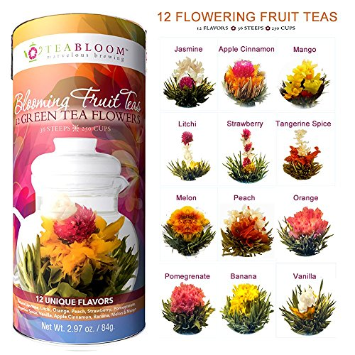 teabloom-flowering-tea-12-assorted-fruit-blooming-tea-balls-fresh-new-fruit-tea-flowers