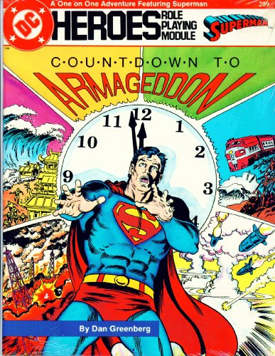 DC Heroes Role Playing Module Superman Countdown to Armageddon #209 by DC Comics - 1