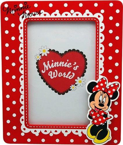 Minnie Mouse - Portafotos de madera, 10 x 15 cm (Kids WD91010)