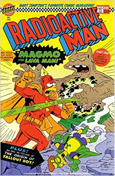 Radioactive Man #88: The Molten Menace of Magmo the Lava Man (Simpsons
