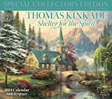 Thomas Kinkade Special Collectors Edition with Scripture 2014 Deluxe Wall Calen: Shelter for the Spirit