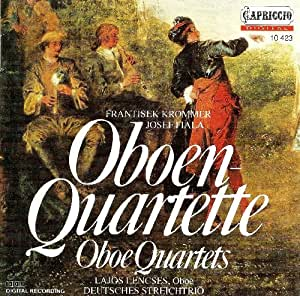 Oboe Quartets - Fiala J. / Kr