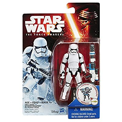 Star Wars The Force Awakens 375-inch Figure Snow Mission First Order Stormtrooper from Hasbro