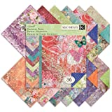 K&Company Jubilee Designer Paper Pad, 12-Inch- by-12-Inch