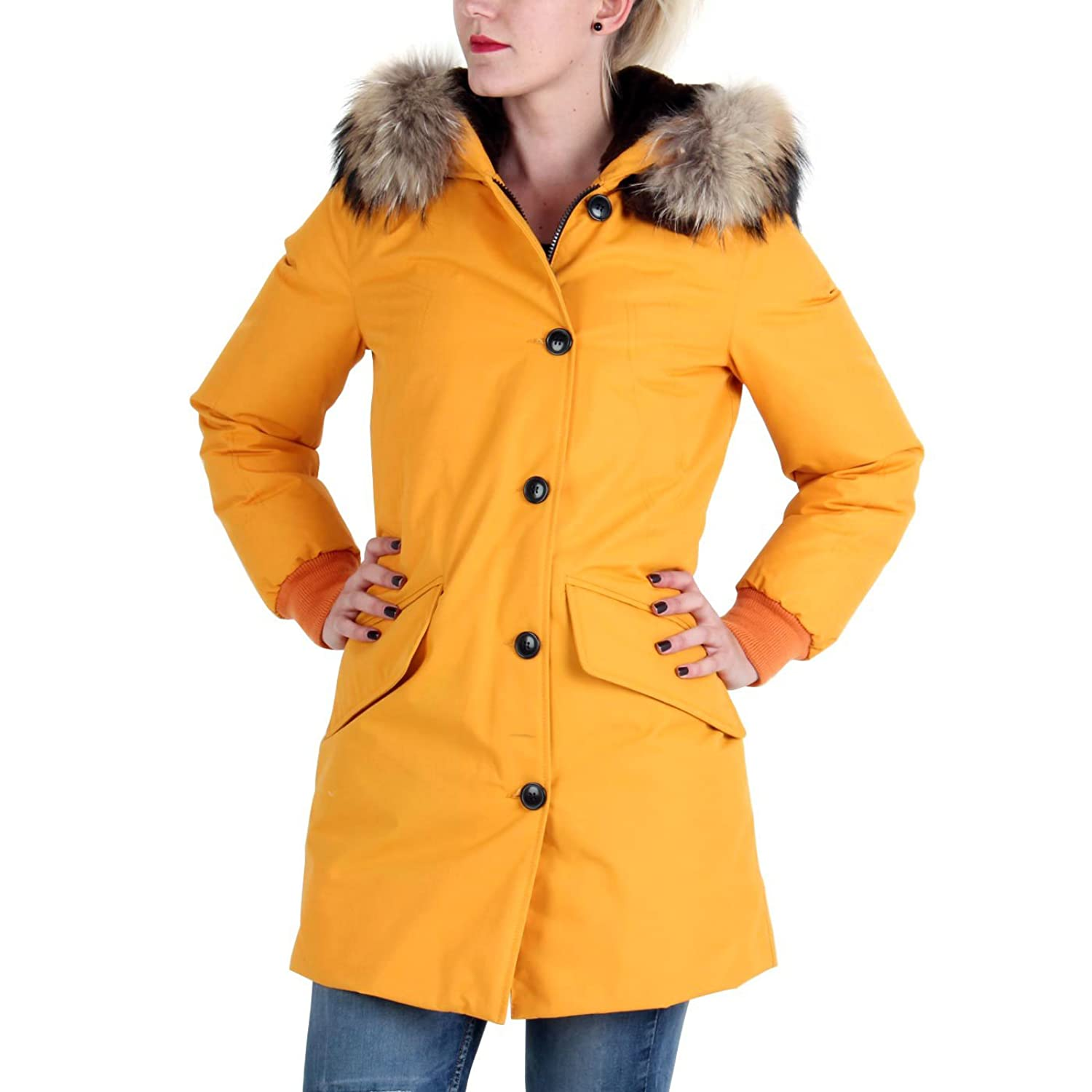 MUSEUM Damen Winter Daunenparka Yellow MD19481 2. Wahl