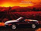 1995 Mazda Mx5 Mx-5 Miata 1-page Car Sales Brochure Fact Sheet - M Edition