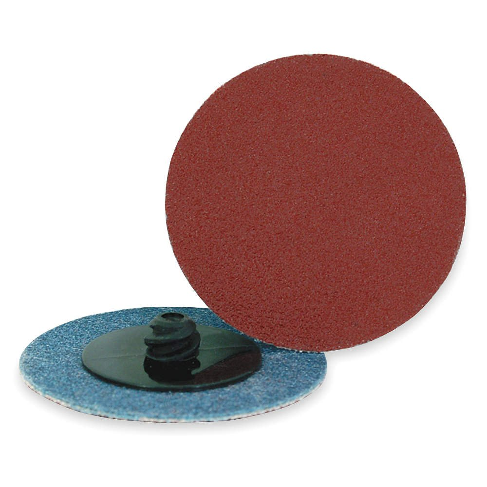 Locking Disc, AlO, 2in, 60 Grit, TR, PK25 festool 497152 p60 grit granat abrasives pack of 10