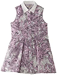 French Connection Kids Girls' Dress (FCN1733_Violet Vice_8-9Y)