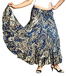 COTTON BREEZE Women Long Skirt