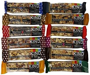 KIND Nuts & Spices ikkad Bars - All Flavors Sampler Pack - 48 Count by KIND