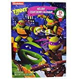 2016 Christmas Advent Holiday Countdown Calendar with 24 Milk Chocolates (Nickelodeon Teenage Mutant Ninja Turtles)