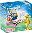 Playmobil - 4815 - Figurine - Roi des Mers avec Calèche