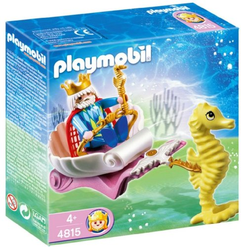 Playmobil Ocean King with Seahorse Carriage