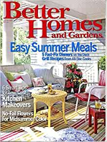 Better homes and gardens july 2007 easy summer meals 5 Better homes and gardens recipes from last night