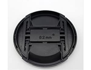 82mm Snap-on Lens Cap Cover for Sony E-mount FE 24-70mm F2.8 GM Lens for Sony Alpha A7R III/A7R II/A7 III/A7 II/A7/A7S II/A7S/A9 Camera,ULBTER Center Pinch Lens Cap Lens Cover -2 Pack (Color: 82mm)