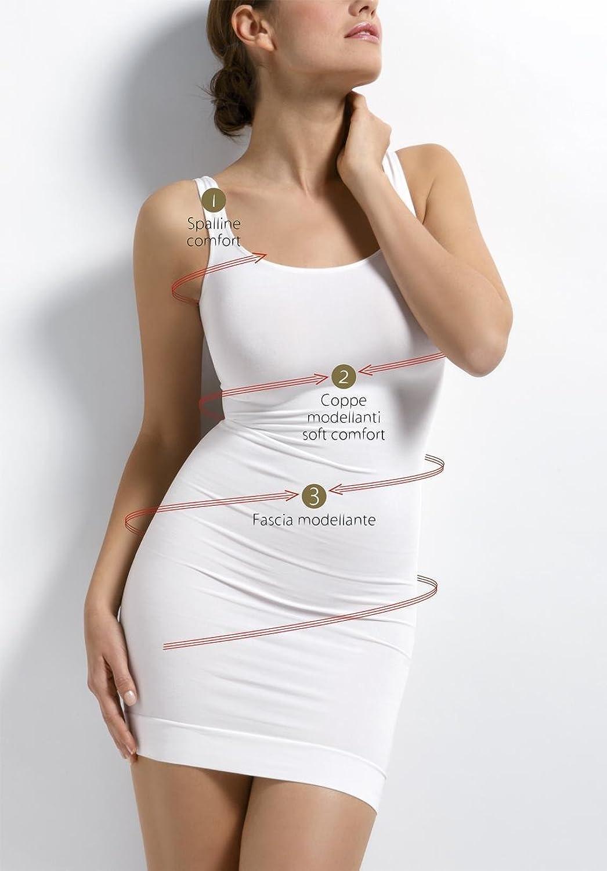 Sensi Sottoveste Modellante figurformend Unterkleid Miederkleid Shapewear SCHWARZ günstig bestellen