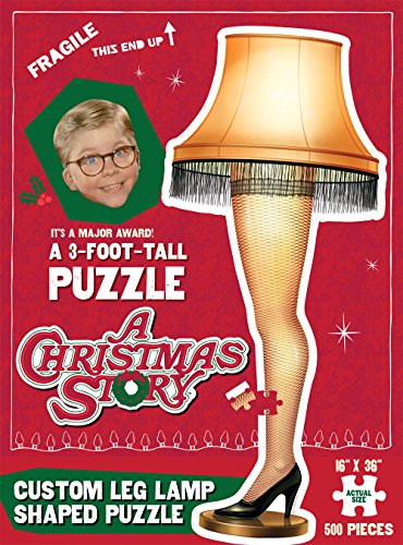 USAopoly A Christmas Story Jigsaw Puzzle (500-Piece)