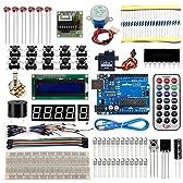 Arduinoをはじめよう 互換キット UNO R3対応互換ボード 初心者専用実験キット 基本部品セット20 in 1