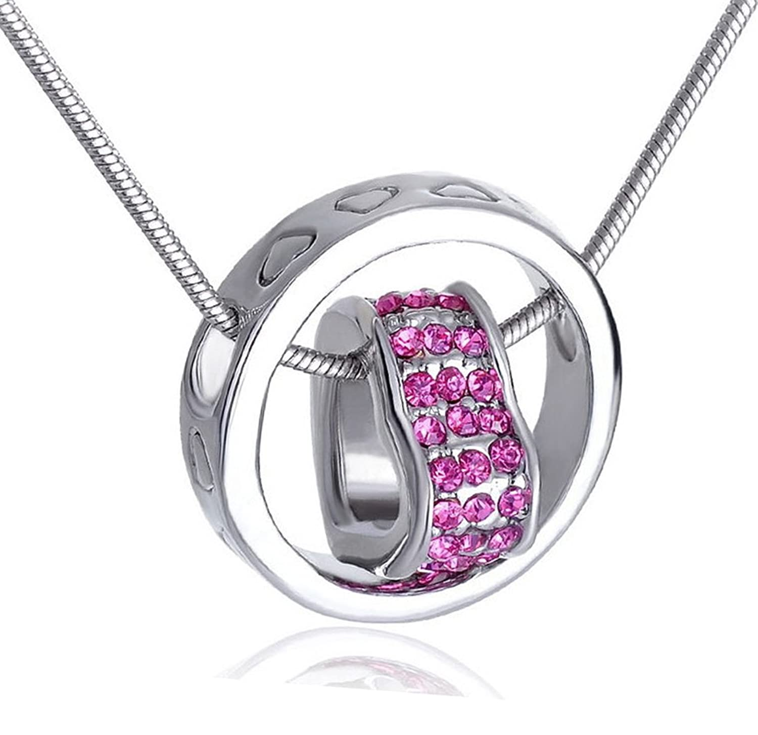 austrian pendant necklace with chain for