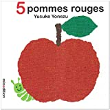 5 pommes rouges