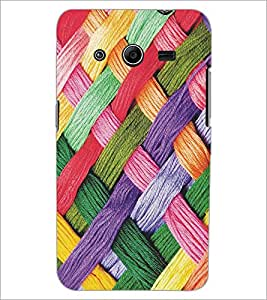 PRINTSWAG COLORFULL WOOL Designer Back Cover Case for SAMSUNG GALAXY CORE 2 G355H