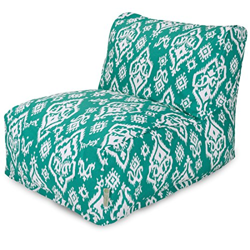 Majestic Home Goods Raja Bean Bag Chair Lounger, Jade