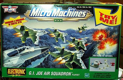 Picture of Galoob GI Joe Air Squadron Electronic Micro Machines Playset Figure (B000N8P7RA) (G.I. Joe Action Figures)