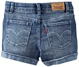 Levi's Girls 2-6x Felicity Shorty Short, Farrah, 5