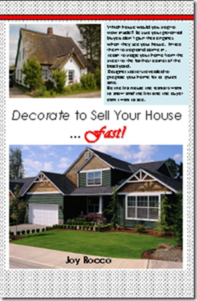 Amazon.com: Decorate to Sell Your House Fast eBook: Joy Rocco ...
