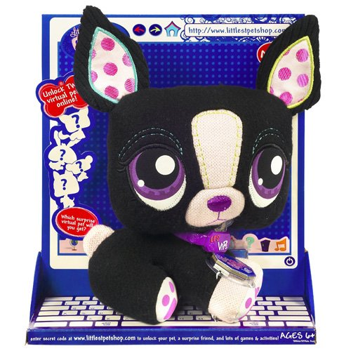 Buy Low Price Hasbro Littlest Pet Shop VIP Pets Surprise Pet – Boston Terrier Figure (B001JDFAKC)