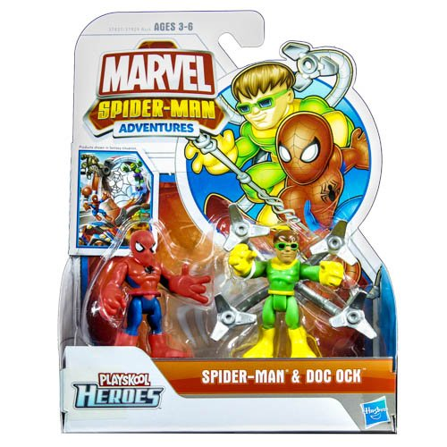 Spider-Man Two-Pack Figure Series 01 - Spider-Man 2 & Doc Ock - 1