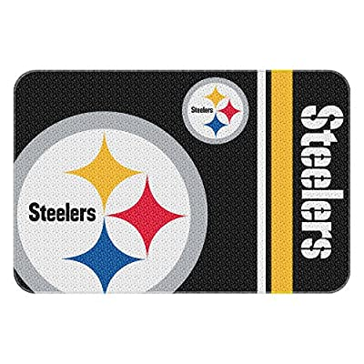 Northwest NOR-1NFL336000078WMT 30 x 20 Pittsburgh Steelers NFL Tufted Rug