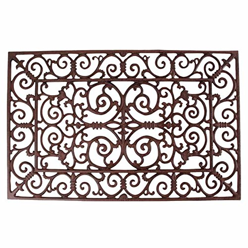 Esschert Design Doormat in Antique Brown - Rectangle (Aluminum Door Mat compare prices)