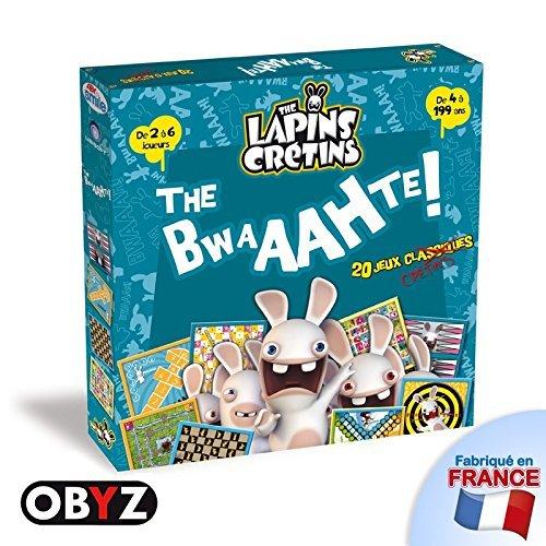Abysmile - smijdp005 - Jeu de Société - Lapins Cretins - 20 Jeux Classiques - The Bwaahte