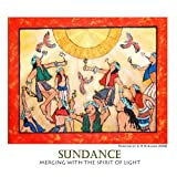 Sundance: Merging with the Spirit of Light (The Art of C R Strahan Note Cards, Boxed Set of 8 Cards/Envelopes--Blank Inside) ~ C R Strahan