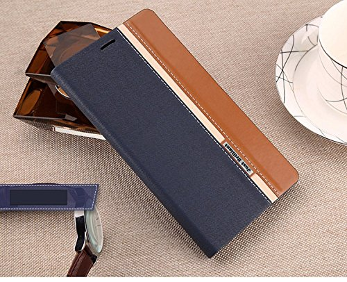 Just Brilliant Colourful leather flip cover for Micromax Yu Yuphoria [Free HD Screen Guard]- Blue