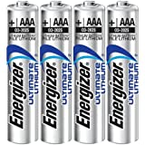 Energizer - Pile Lithium - AAA x 4 - Ultimate (LR03)